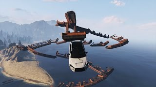 WILDE LUCHTRACES! - GTA 5 Online Funny Moments