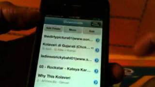 free music  iPhone 44S download songs on the go