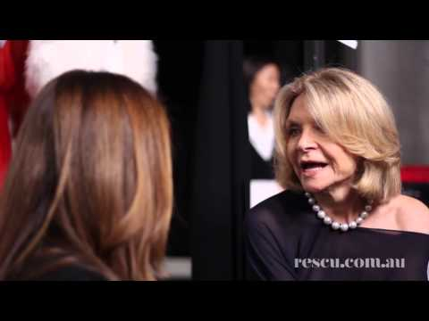 Carla Zampatti Interview at Fashion Week Australia