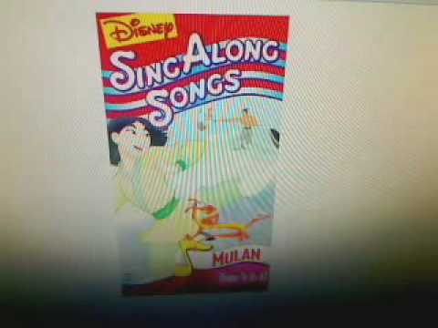 Disney Sing Along Songs: Honor To Us All