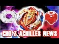 My Thoughts on Cho--Z Achilles Parts and Gimmick! | Beyblade Burst News