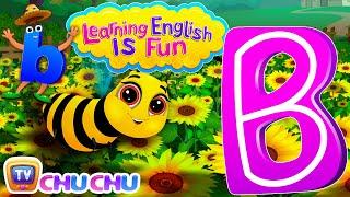 "Learning English Is Fun™ | Alphabet ""B"" | ChuChu TV Preschool English Language Learning For Children"