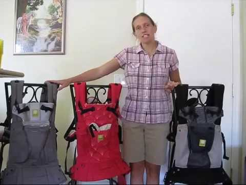 Lillebaby Carrier Compare- All Seasons. Embossed. & Airflow