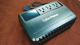 cyber power UPS unboxing / Cyber Power Uninterrupted Power Supply / UPS Unboxing and Review