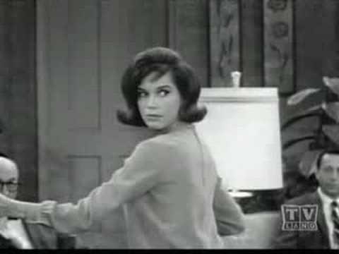 Mary Tyler Moore on Dick Van Dyke Show