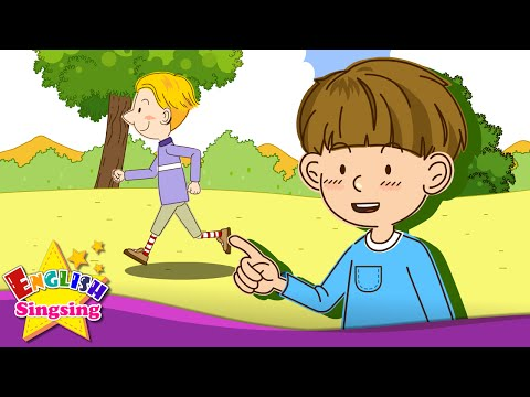 What are you doing? (Present progressive) - English song for Kids - Enjoy the song