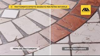 Come ravvivare il colore della pietra | Effetto bagnato con FILAWET (it)