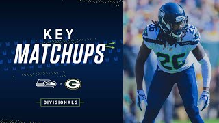 2019 Divisional: Seahawks at Packers Key Matchups