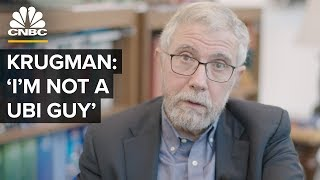 What Will Cause The Next Recession - Paul Krugman On UBI And More