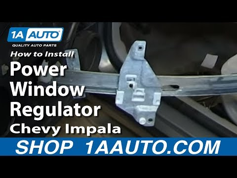 How To Install Replace Power Window Regulator 2006-12 Chevy Impala