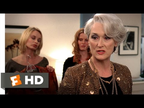 The Devil Wears Prada (3/5) Movie CLIP - Stuff (2006) HD