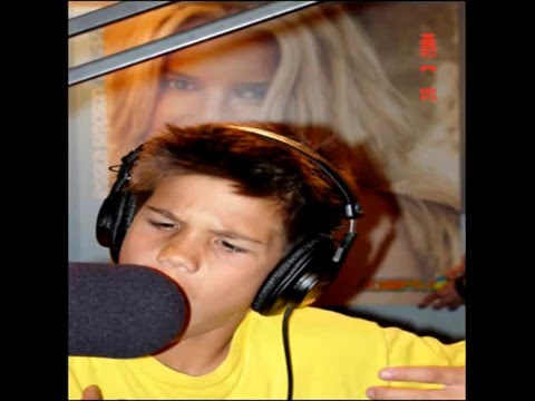 Taylor lautner when he was young