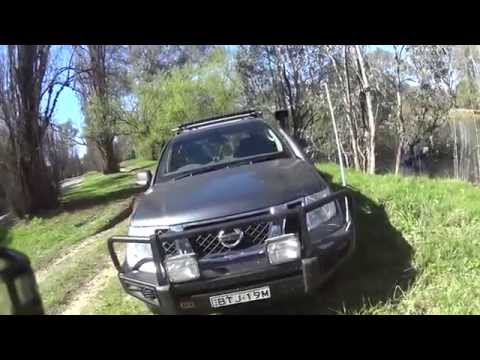 The fitting a UHF radio in my 4WD. Why I put the antenna on the 4x4 Nissan Pathfinder bull bar edge.