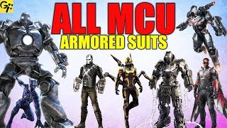 All AVENGERS Armored Suits/Exoskeletons Explained