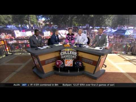 Lee Corso and Katy Perry make their College GameDay picks Alabama vs Ole Miss