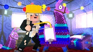 FORTNITE Loot Lama in MINECRAFT bauen!