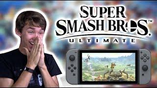 Smash Bros. Ultimate E3 REACTION!