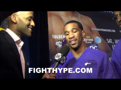 LAMONT PETERSON GETS BIRTHDAY CAKE AFTER MAKING WEIGHT FOR DIERRY JEAN CLASH