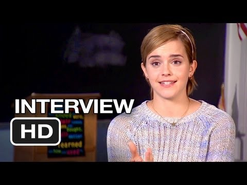 The Perks Of Being A Wallflower Interview – Emma Watson (2012) HD Movie