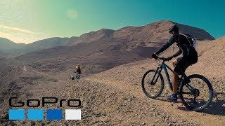 A day of Mountain biking at Wadi Degla Protectorate in Egypt