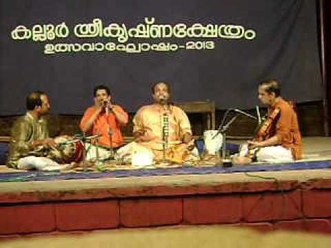 Vanga Kadal Kadainda - Churuti - Andal Thirupavai  By Ambikapuram Sivaraman video