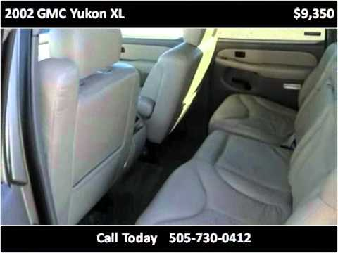 2002 GMC Yukon XL Used Cars Albuquerque NM