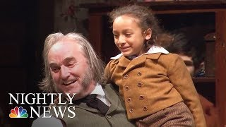 Female 'Tiny Tim' Is A 10-Year-Old Miracle | NBC Nightly News