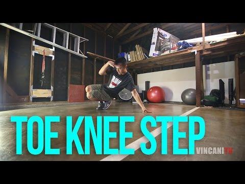 How to Breakdance | Toe Knee | Footwork Tutorial thumbnail