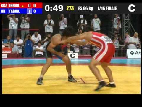 Иннокентьев-Хермани Тагави (Иран) 66 кг