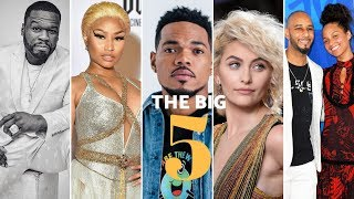 The Big5: Mtoto wa Michael Jackson amchana 50 Cent, mastaa wamsihi Nicki Minaj asiache muziki