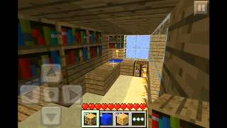 MineCraft PE: How To Make A Kitchen