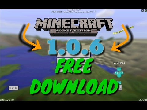 Minecraft PE 1.0.6 Download Free Apk Android [MCPE 1.0.6.0] Command Block