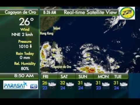 Parasat Weather Update Cagayan de Oro City: Tropical Depression
