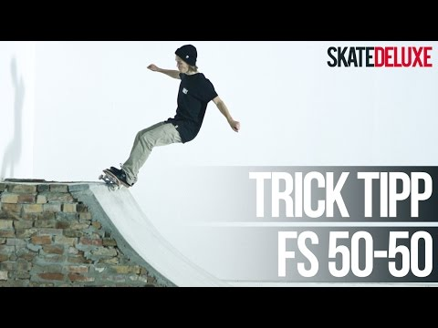 Skateboard Trick Tipp: Frontside 50-50 Grind (Transition) | Deutsch/German | skatedeluxe
