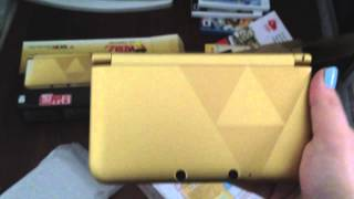 Limited Edition Zelda 3DS XL unboxing!! (US)