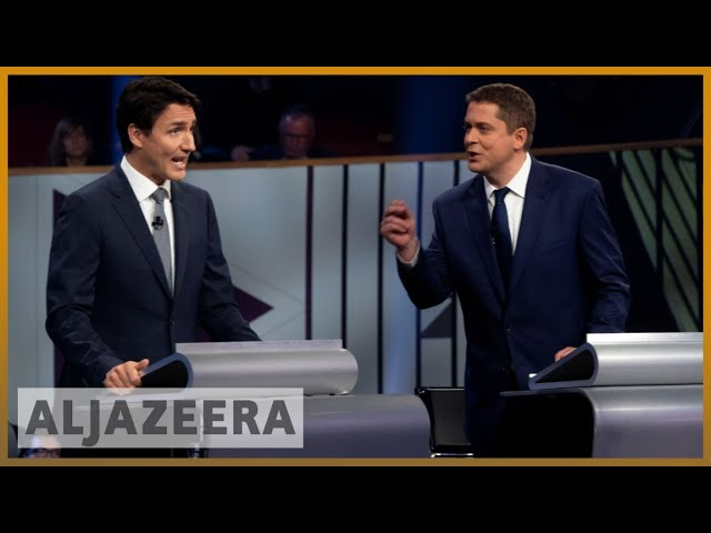 Canada elections Trudeau battles to stay in office