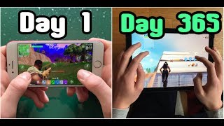 1 year of Fortnite Mobile