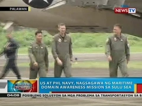 BP: US at Phl Navy, nagsagawa ng maritime domain awareness mission sa Sulu Sea