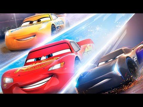 Arabalar 3 Türkçe Dublaj Full İzle Jackson Storm Şimşek Mcqueen Yarışı Sahnesi (Çizgi Film Gibi)