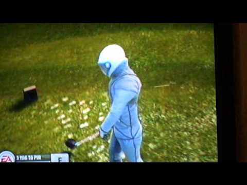 Tiger Woods PGA Tour 2009:  How to play par 3's