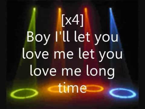 Love You Long Time Lyrics - Black Eyed Peas