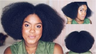 Blowout & Trim | How To Cut & Shape Natural Hair