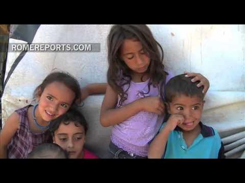Ya hay más de un millón de niños sirios refugiados a causa de la guerra