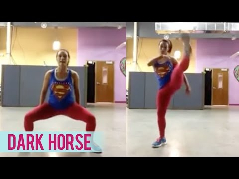 Jessica's Workout Routine To dark Horse By Katy Perry video