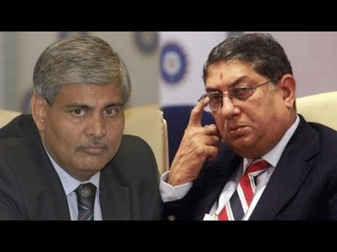 'Shashank Manohar is the last man Srinivasan would want as BCCI chief'
