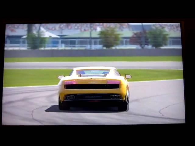 GT5 Replay Gallardo LP560-4 on Indy