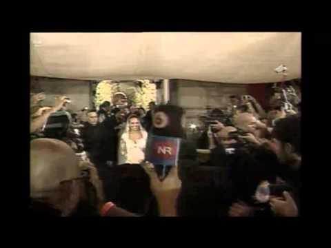 (Video) Juego de Pólvora dio por finalizada la ceremonia de Keylor Navas y Andrea Salas