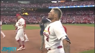 Yadier Molina walks it off to send the series to game 5, a breakdown