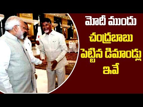 AP CM Chandrababu Naidu Demands Special Status At Niti Aayog Meeting 2018 |Chandrababu Fires On Modi