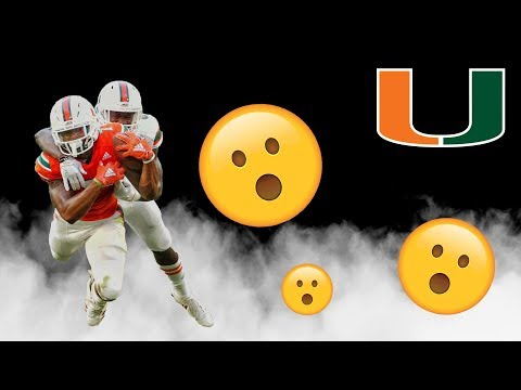 The Next Great WR For The Miami Hurricanes